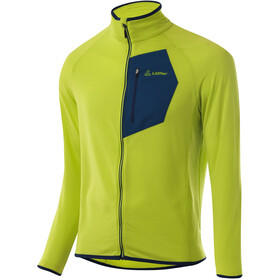 Löffler Mid Aero Veste Polaire Tech Homme, light green